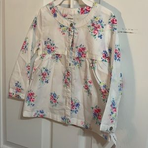 Carter's NWT button down top 2t